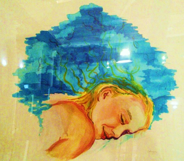 Sueño acuático.