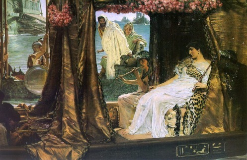 antonio y cleopatra sir lawrence alma tadema 1883